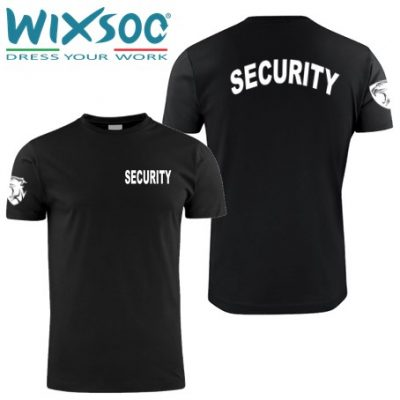 Wixsoo-t-shirt-security-pantera-fronte-cuore-retro-curvo