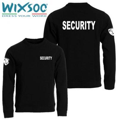 wixsoo-felpa-nera-girocollo-security-cuore-panther-fr