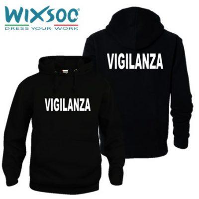 wixsoo-felpa-uomo-cappuccio-nera-vigilanza-fr