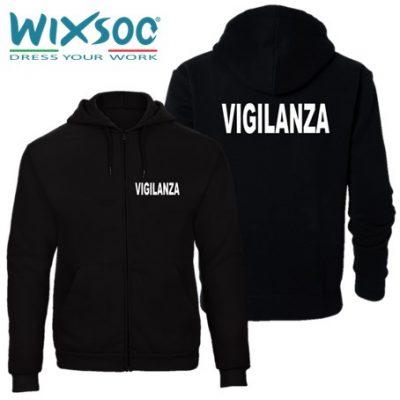 wixsoo-felpa-uomo-cappuccio-zip-nera-vigilanza-fr
