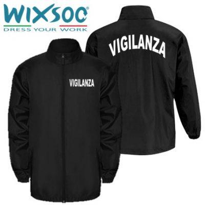 wixsoo-giacca-impermeabile-uomo-nera-vigilanza-stampa-curva-fr