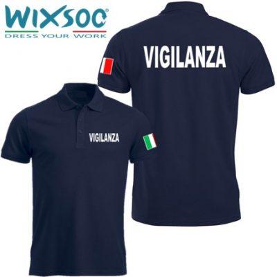 wixsoo-polo-uomo-mezza-manica-blu-navy-bandiera-vigilanza-fr