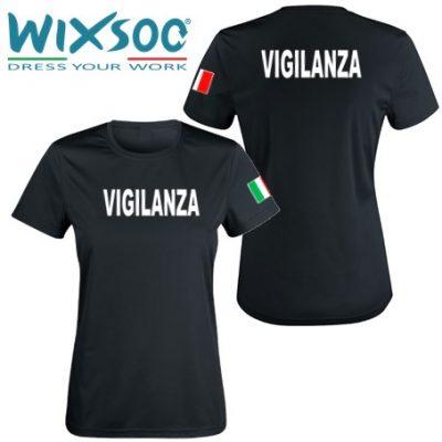 wixsoo-t-shirt-donna-nera-bandiera-vigilanza-fr