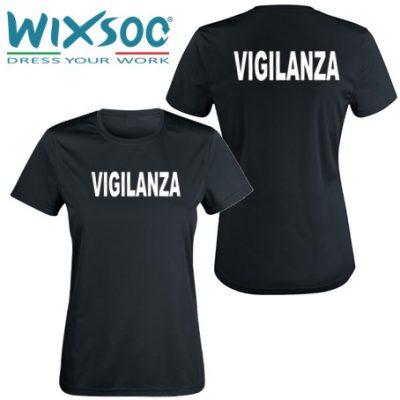 wixsoo-t-shirt-donna-nera-vigilanza-fr