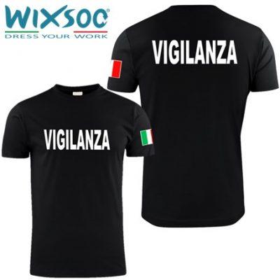 wixsoo-t-shirt-uomo-nera-bandiera-vigilanza-fr